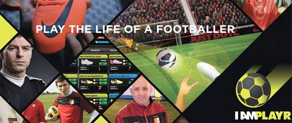I am Playr - Take your team to the top of the league as you score goals in this fantastic game.