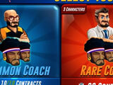 Coach selection in Basketball Arena