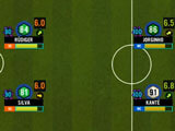 Setting formation in Soccer Manager 2021