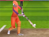 Hitting a shot in World Cricket Championship Lt
