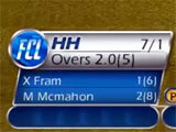 Scorecard in World Cricket Championship Lt
