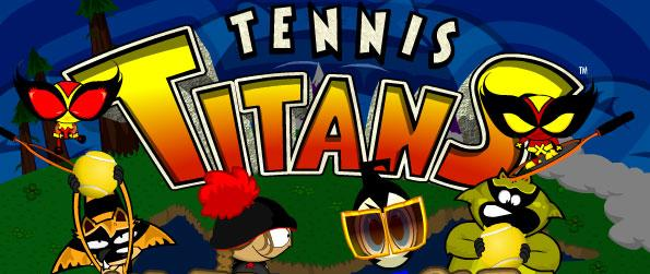 Tennis Titans - Set your pace for an exhilarating tennis fun in this simple, easy to learn, amusing, and addictive tennis game, Tennis Titans.
