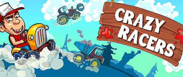 Crazy Racers - Get into the craze of tractor racing and have a great time with this fun-filled, pun-themed racing game - Crazy Racers.