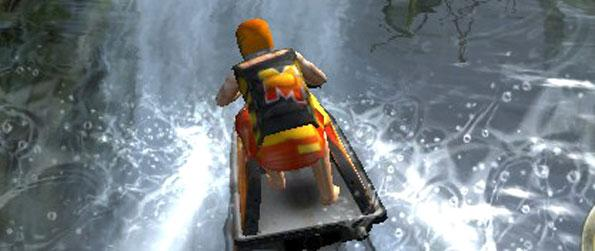 Jet Ski Racer - Race through an abandoned city with your trusted jet ski.