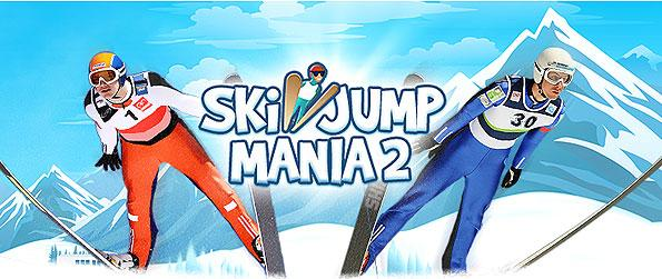 Ski Jump Mania 2 - Manage a competitive ski jumper make it to the top ranks as you progress in this wonderfully extensive simulation game in Facebook.