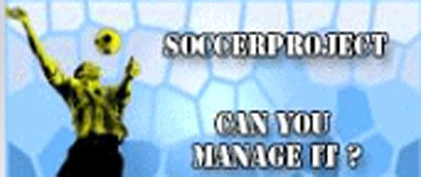 Soccer Project - Become the manager of your own football club in Soccer Project.