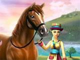 Star Stable Brown Horse