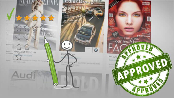 Yumpu is recommended by publishers