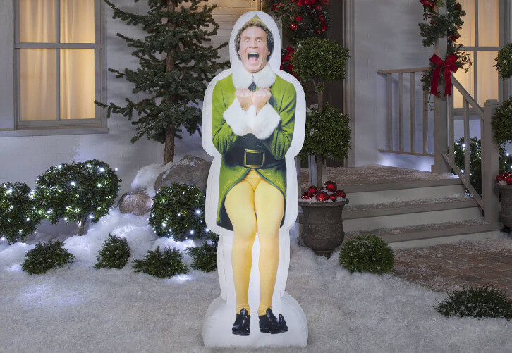 Buddy the Elf Inflatable Holiday Decoration
