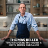 Thomas Keller's MasterClass in Cooking Michelin Star Quality Eggs, Pasta & Vegetables