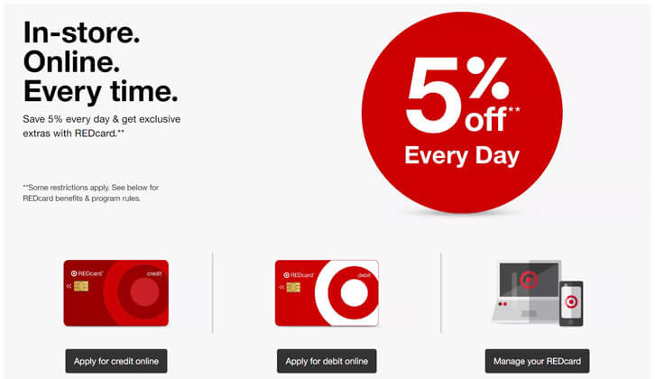 Get Extra Discounts on Your Target Purchases with Your REDcard!