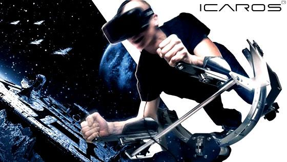 Icaros Space in VR Exercise Fun