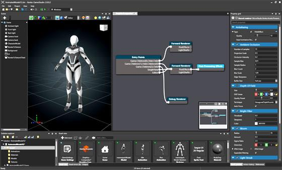 VR Game Editor Tool