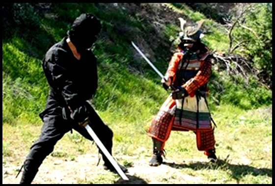 Samurai vs Shinobi