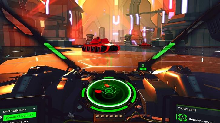 Battlezone, coming soon to PlayStation VR