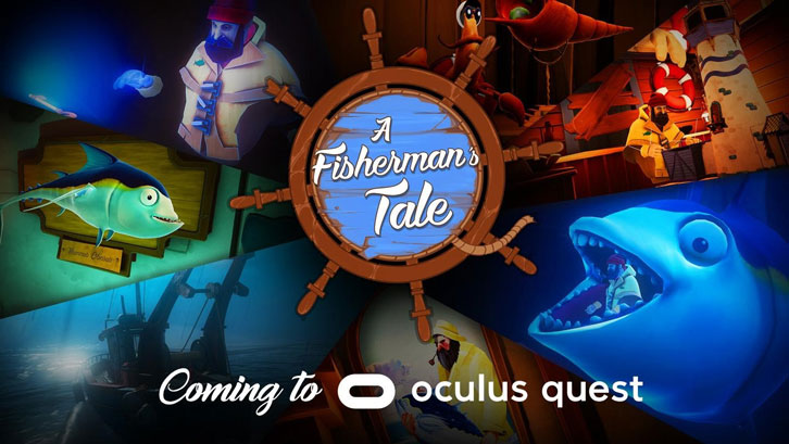 VR Game Of The Year Award Winner A Fisherman's Tale Out Now on Oculus Quest