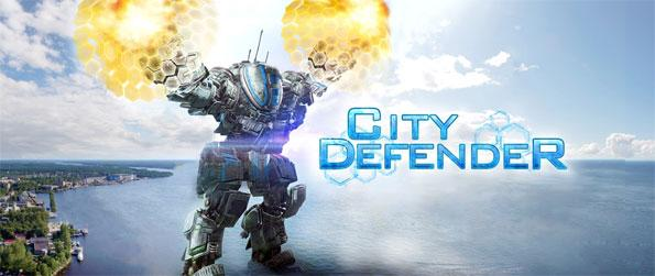 City Defender - Defend your city from incoming missiles in this exciting game, City Defender VR!