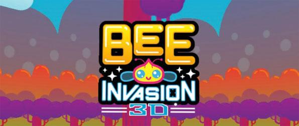 Bee Invasion - Shoot at a swarm of crazy bees in this exciting 360º endless shooter game, Bee Invasion!