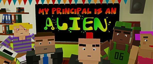 My Principal is an Alien - Find out why strange things are happening in your school when the new principal showed up in My Principal is an Alien!