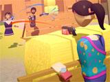 Rec Room: Playing paintball with friends