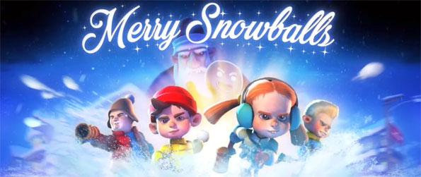 Merry Snowballs: Woodlands - Relive your childhood by throwing snowballs at virtual kids in Merry Snowballs!