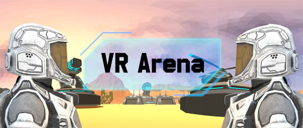 VR Arena - Compete with other players in this competitive, MMOFPS VR game, VR Arena!