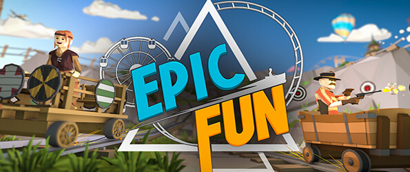 Epic Fun VR    - An awesome VR theme park romp that will leave a memorable smile on your face.