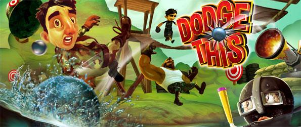 Dodge This! VR - Have fun shooting cannon balls at a variety of funny characters in Dodge This! VR