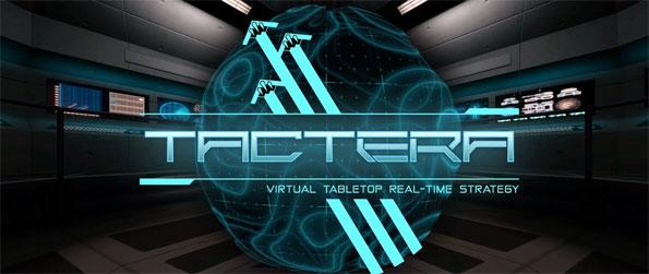 Tactera - Set on a virtual holographic tabletop, you'll command your battalions into glorious battle in this futuristic real-time strategy game, Tactera!