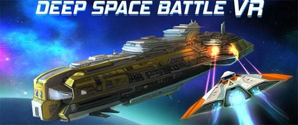 Deep Space Battle VR - Use your gaze to pilot from among 6 different types of amazing-looking spacecrafts and blast the enemies from space in Deep Space Battle VR!