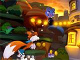 Collecting coins in Lucky's Tale