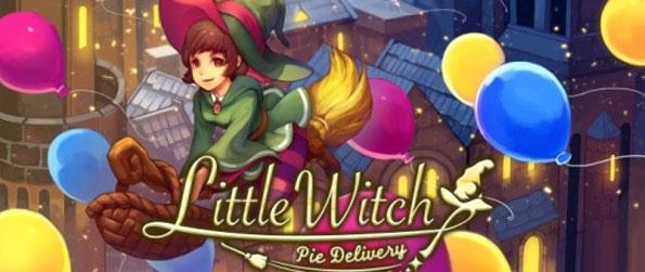 Little Witch: Pie Delivery - Help the little witch navigate the streets as she races to deliver pies to her customers while they are hot in this fast-paced casual game, Little Witch: Pie Delivery!