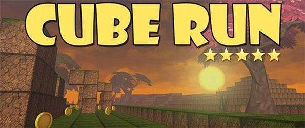 Cube Run - Sprint through a maze of cubes in the voxel-based world of CubeRun!