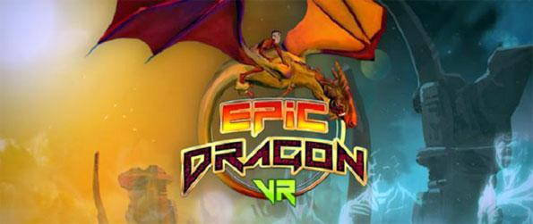 Epic Dragon VR - Steer your magnificent dragon  through various alien skies using an enchanted maskwhile collecting eggs to fight back the Gods of Darkness and their demonic moon in Epic Dragon VR!