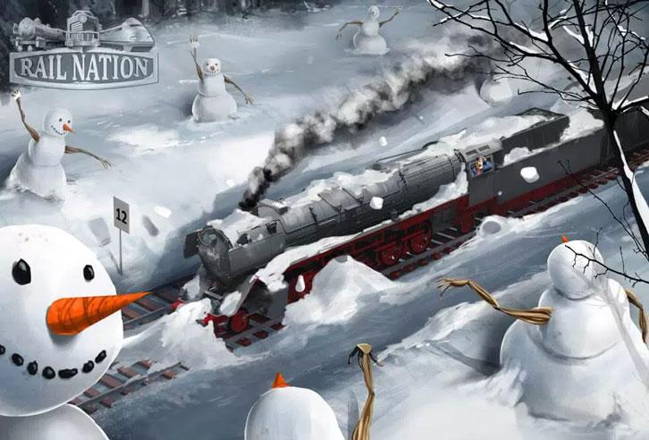 """Rail Nation Introduces New Minigame """"Snowball Battle"""""""