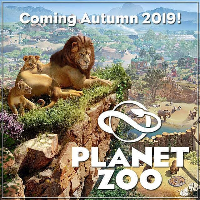 Frontier Announces Planet Zoo. Build and Manage a World for Authentic Living Animals in the Ultimate Zoo Simulation