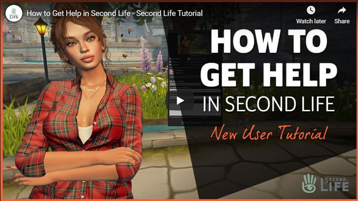 How to Get Help in Second Life?