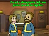 Funny pick-up lines in Fallout Shelter