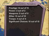 Choices: Stories You Play Story Progress