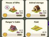 Tiny Farm in-game shop