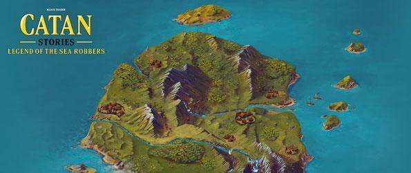 Catan Stories: The Legend of the Sea Robbers - Guide three unlikely heroes as they each set off to fulfill their own destinies which ultimately will help save the island of Catan from certain doom.