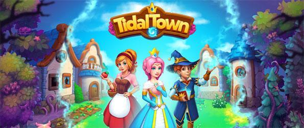 Tidal Town - Help Princess Miranda remove the curse from her kingdom and restore it in Tidal Town!