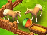Zoo 2: Animal Park: Playing with the horses