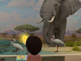 Learning through science exhibits in Adventure Academy