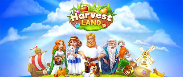 Harvest Land - Build your own village, grow crops and sell produce in Harvest Land.