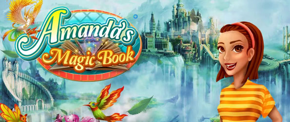 Amanda's Magic Book - Help Amanda regain her magic book in this terrific match-3 game that'll provide you with hours upon hours of entertainment.