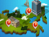 Career mode levels in Real Estate Empire Tycoon