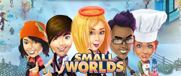 SmallWorlds - Explore the many worlds and have fun with your friends in this brilliant social virtual world game, SmallWorlds!