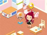 an apartment in LINE Play