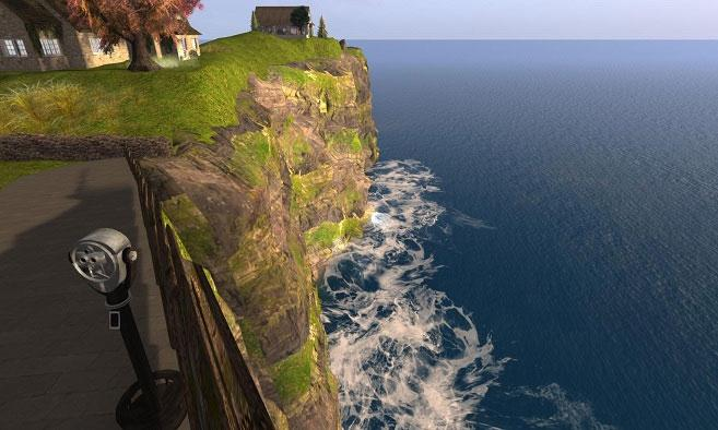 Second Life: Cliffs of Moher